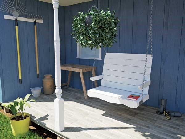 DIY Porch SwingPlans
