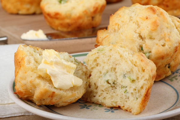 Recipes, Baking Herb-Biscuits