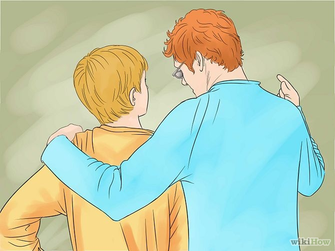 how to come to respect his father