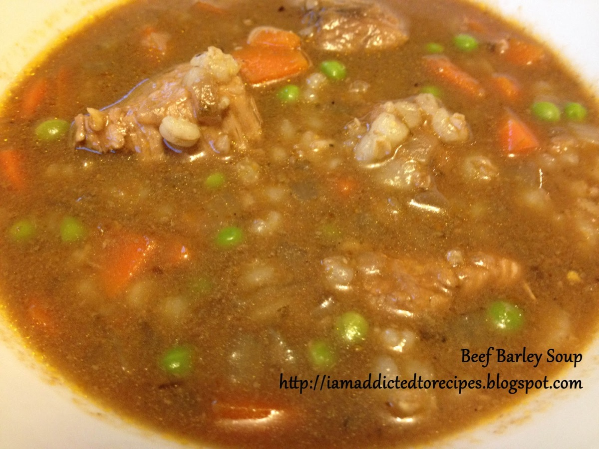 barley soup chicken barley soup turkey soup with lemon and barley ...