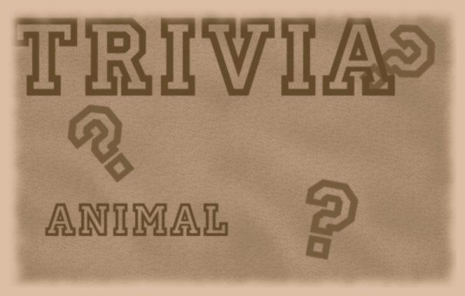 Animal Trivia 5