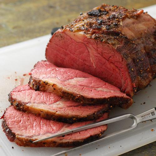 Beef Prime Rib Roast Slow-Roast |