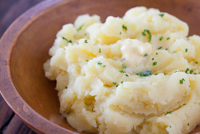 Potatoes Fancy Mashed Potatoes  