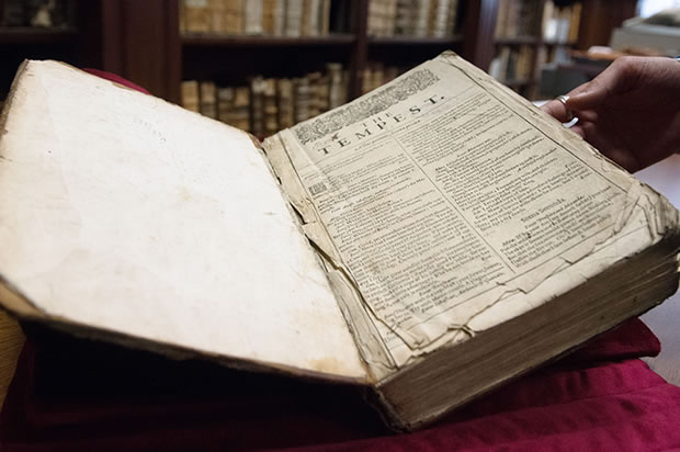 One of Shakespeare's Rare First Folios Discovered in FrenchLibrary