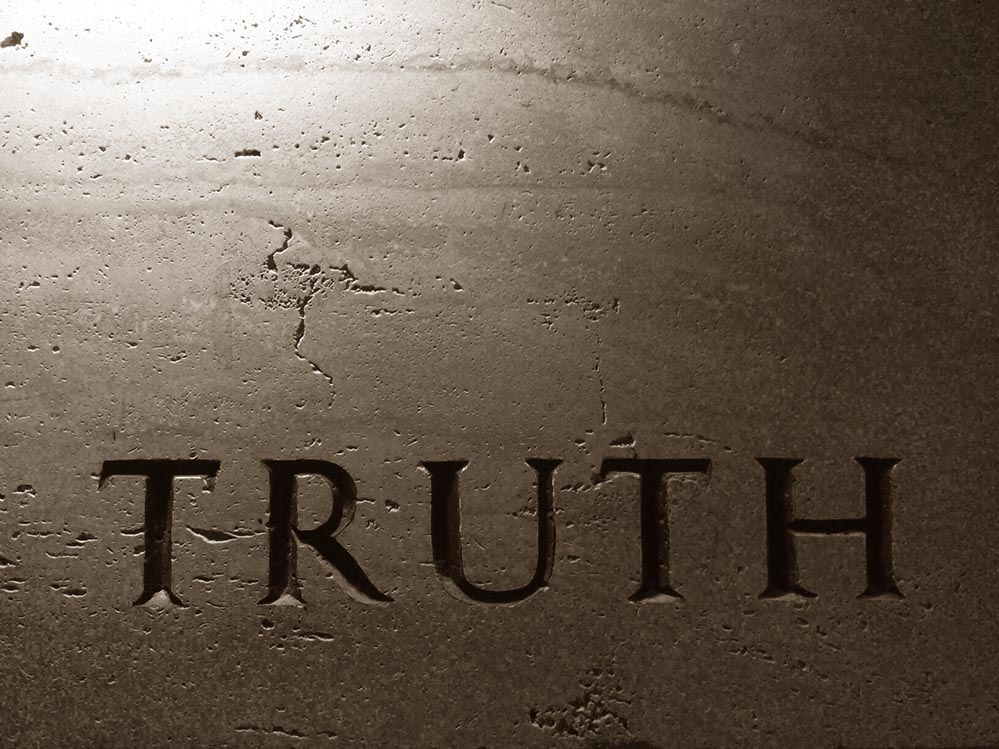absolute truth Absolute truth - is morality relative to our culture and time in history or is truth  based on a universal standard for all of us find out.