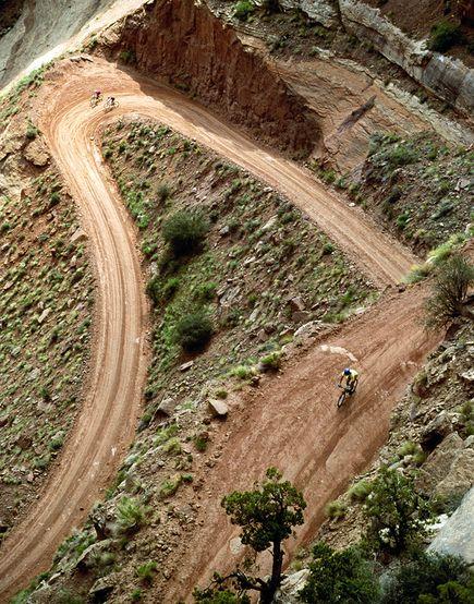 Mountain Bike the White RimTrail