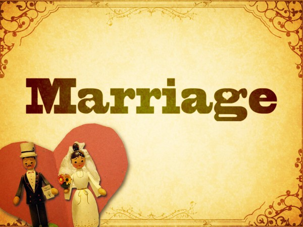 Work of Marriage