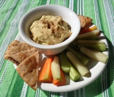 Sweet Pear Hummus